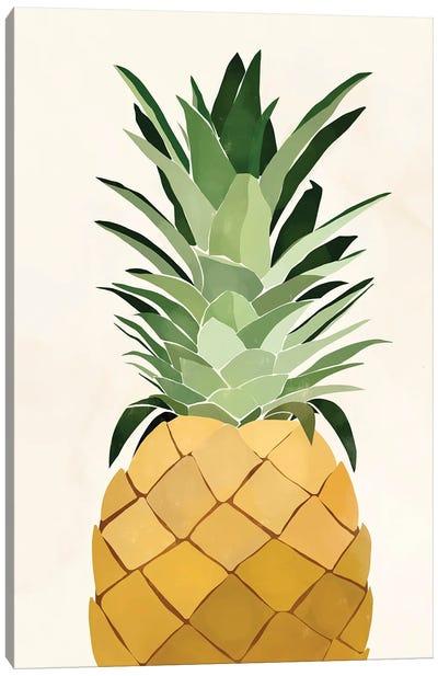 Pineapple Single Canvas Art Print
