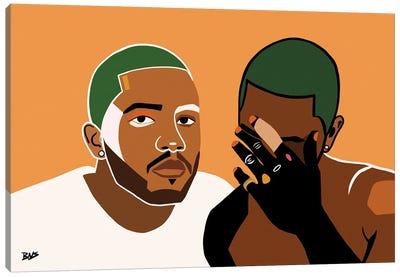Frank Canvas Art Print