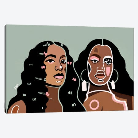 Solange Canvas Print #BNC58} by Bria Nicole Canvas Art