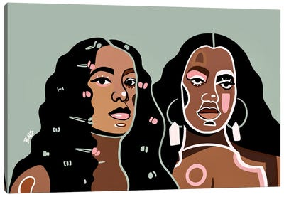 Solange Canvas Art Print