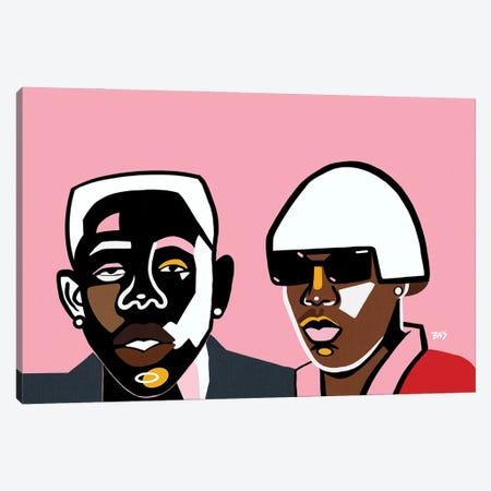 Tyler Canvas Print #BNC59} by Bria Nicole Canvas Artwork