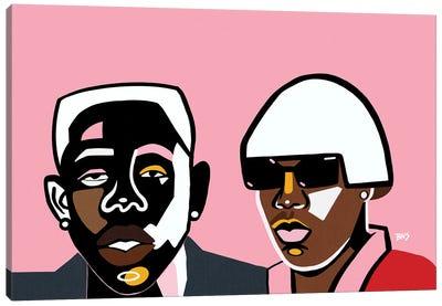 Tyler Canvas Art Print