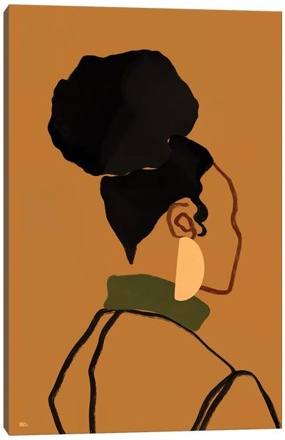Gina Canvas Art Print