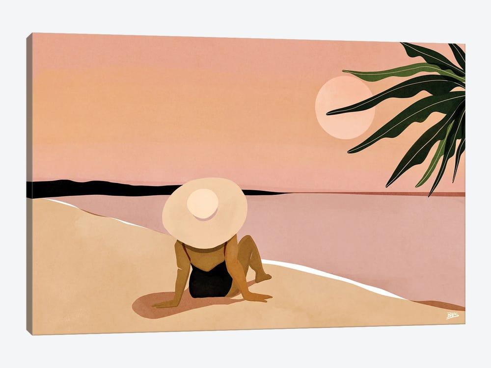 Beach Gaze by Bria Nicole 1-piece Canvas Print