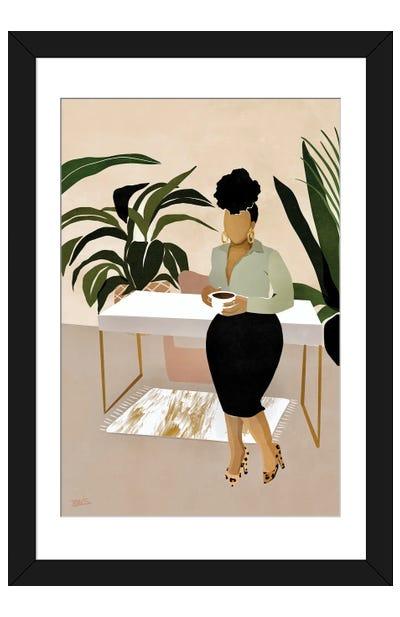 Boss Babe Framed Art Print
