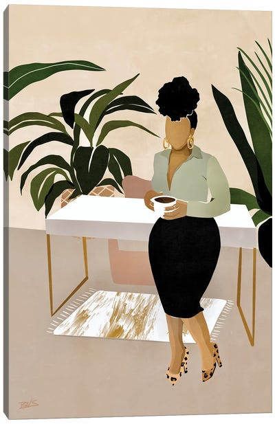 Boss Babe Canvas Art Print