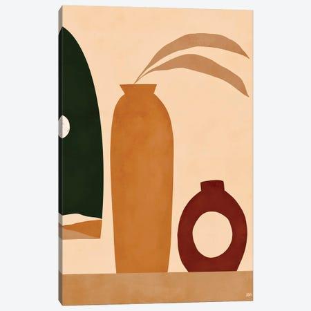 Ochre II Canvas Print #BNC71} by Bria Nicole Canvas Wall Art