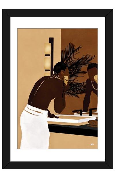 Morning Trim Framed Art Print