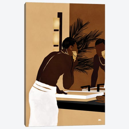 Morning Trim Canvas Print #BNC77} by Bria Nicole Art Print