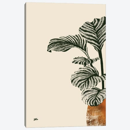 Calas I (bronze) Canvas Print #BNC78} by Bria Nicole Canvas Wall Art
