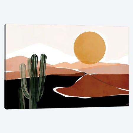Desert Calm Canvas Print #BNC7} by Bria Nicole Canvas Wall Art