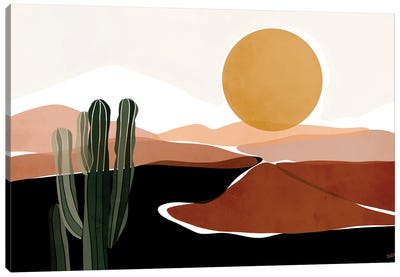 Desert Calm Canvas Art Print