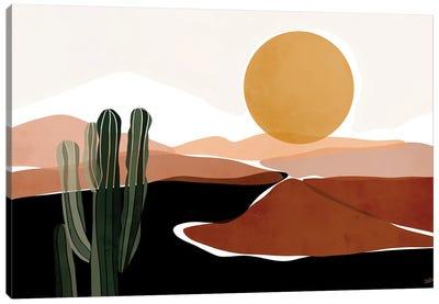 Desert Calm Canvas Art Print