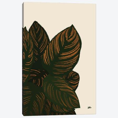 Calas III (bronze) Canvas Print #BNC80} by Bria Nicole Canvas Print