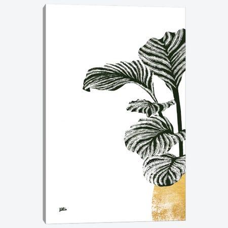 Calas I (gold) Canvas Print #BNC84} by Bria Nicole Canvas Wall Art