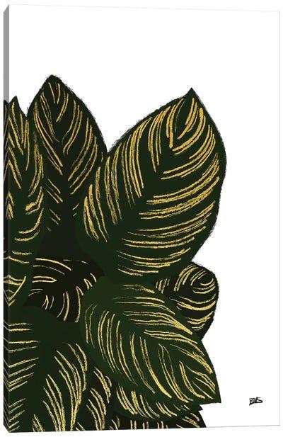 Calas III (gold) Canvas Art Print