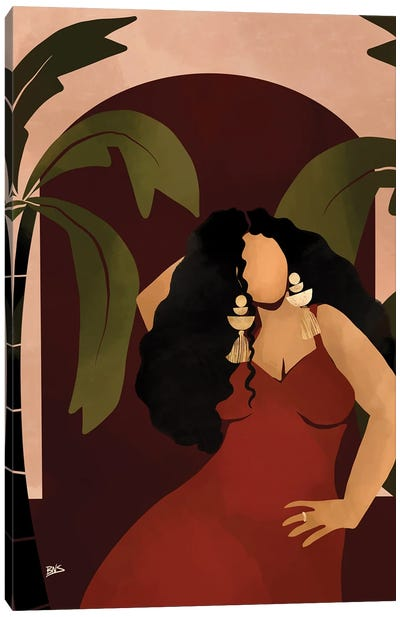 Camille Canvas Art Print
