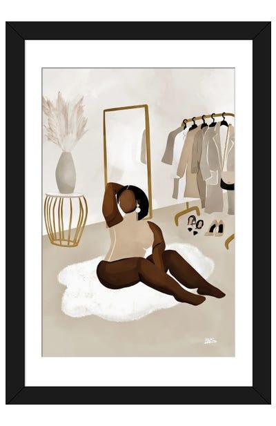 Dena Framed Art Print