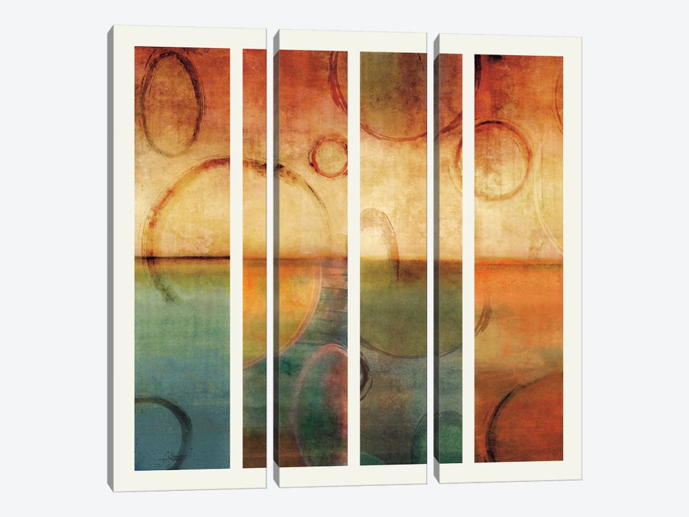 Horizons I by Brent Nelson 3-piece Canvas Art Print