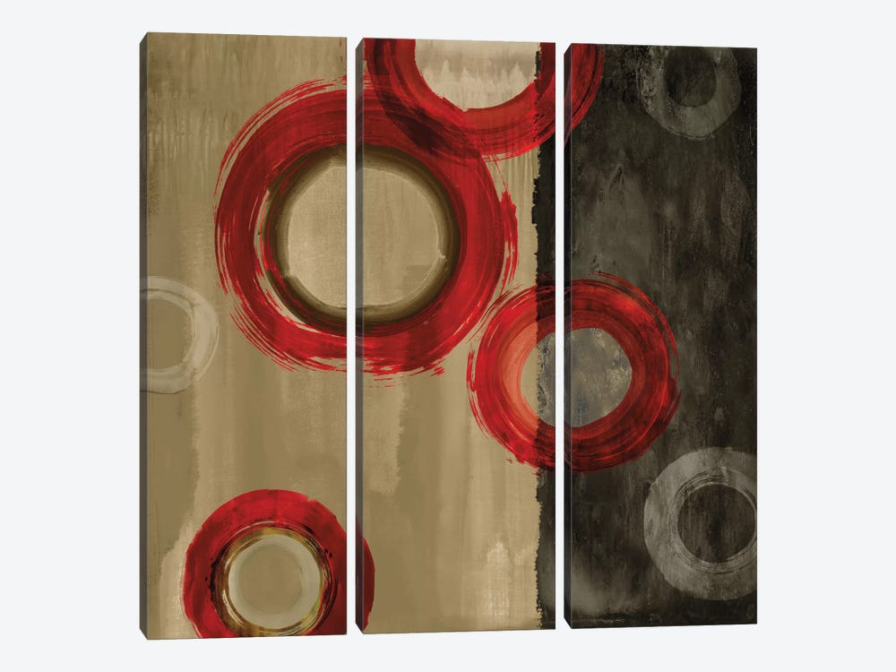 On A Roll II by Brent Nelson 3-piece Canvas Artwork