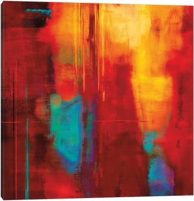 Red Zone I Canvas Art Print