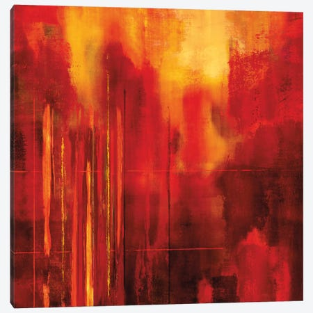 Red Zone II Canvas Print #BNE73} by Brent Nelson Canvas Art