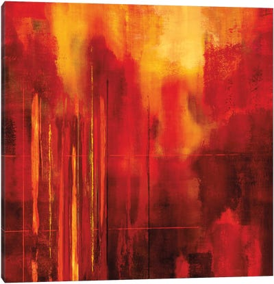 Red Zone II Canvas Art Print