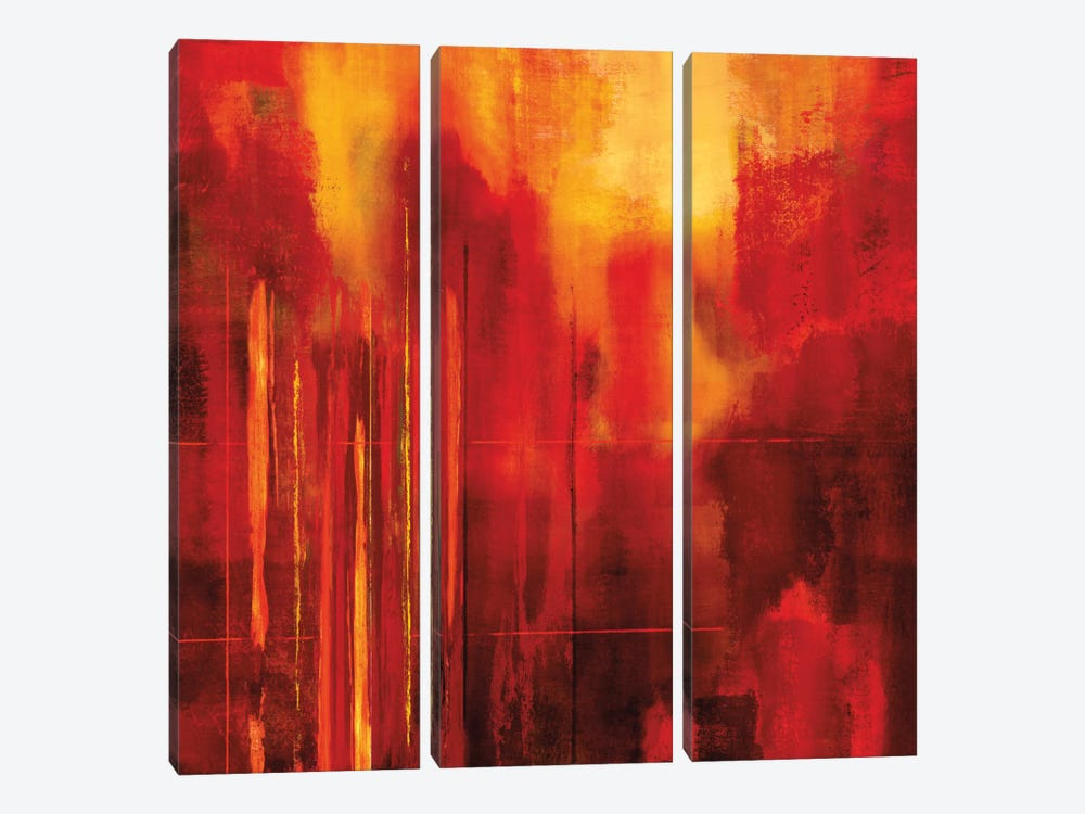 Red Zone II by Brent Nelson 3-piece Art Print