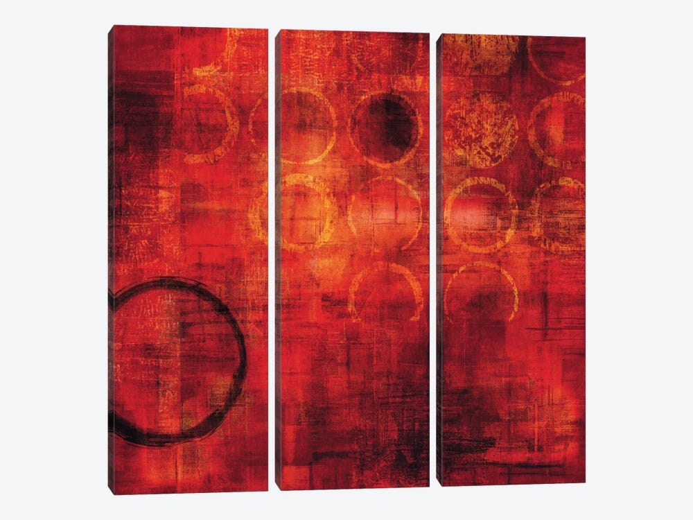 Rojo by Brent Nelson 3-piece Canvas Art