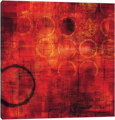 Rojo Canvas Art Print