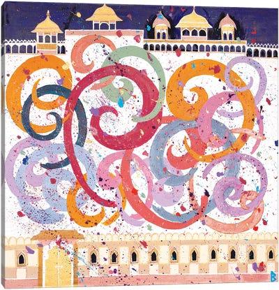 Holi Festival - India Canvas Art Print