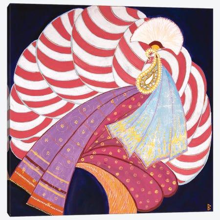 Turban I – India Canvas Print #BNI11} by Berit Bredahl Nielsen Canvas Art