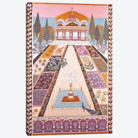 The Maharadja's Garden Canvas Print #BNI16} by Berit Bredahl Nielsen Canvas Art Print