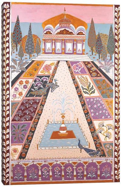 The Maharadja's Garden Canvas Art Print
