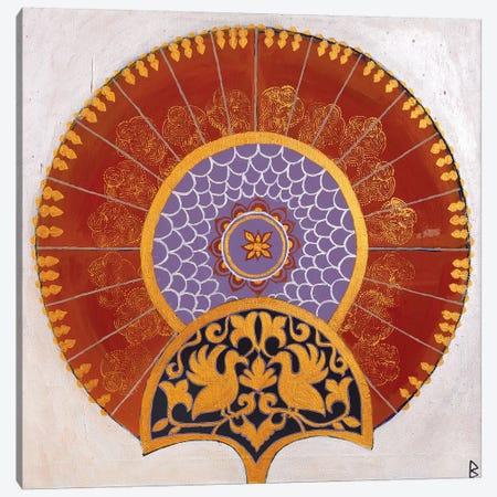 Indian Fan III Canvas Print #BNI19} by Berit Bredahl Nielsen Canvas Artwork