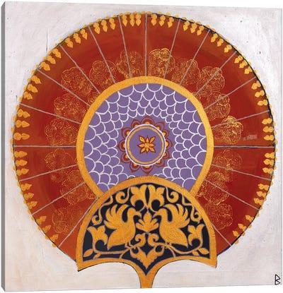 Indian Fan III Canvas Art Print