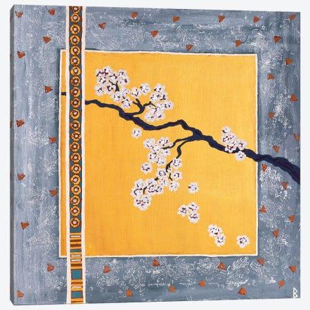 Cherry Blossoms Canvas Print #BNI1} by Berit Bredahl Nielsen Canvas Art Print