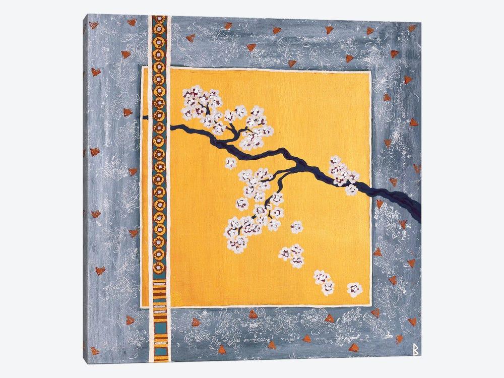 Cherry Blossoms by Berit Bredahl Nielsen 1-piece Canvas Art