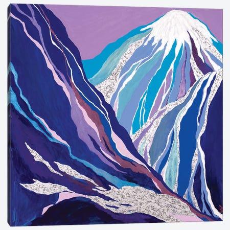 The Last Snow Melting in The Blue Mountains Canvas Print #BNI20} by Berit Bredahl Nielsen Art Print