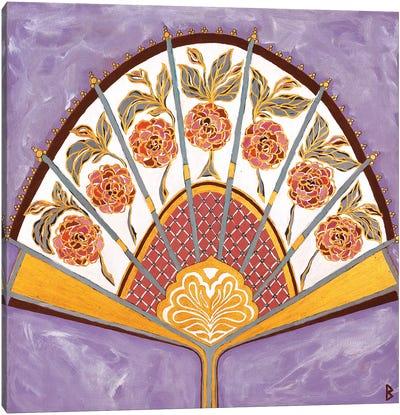 Persian Fan Canvas Art Print