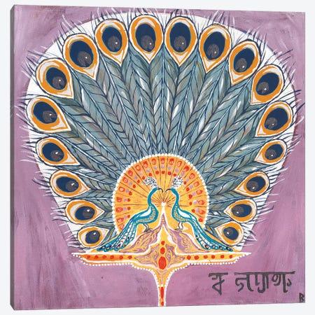 Indian Fan II Canvas Print #BNI25} by Berit Bredahl Nielsen Canvas Artwork