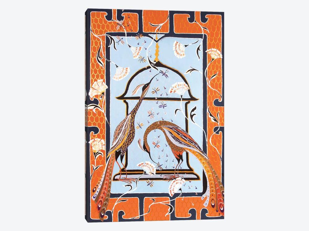 Birds Of Paradise by Berit Bredahl Nielsen 1-piece Canvas Artwork