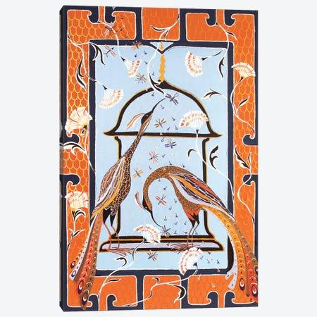 Birds Of Paradise Canvas Print #BNI27} by Berit Bredahl Nielsen Canvas Wall Art