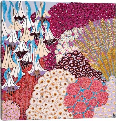 Mediterranean Garden Canvas Art Print
