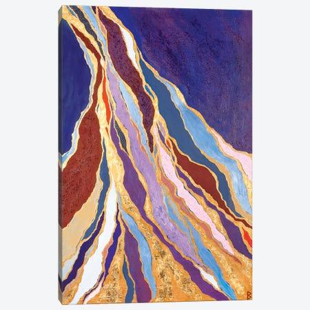 Rivers Of Gold Canvas Print #BNI30} by Berit Bredahl Nielsen Canvas Wall Art