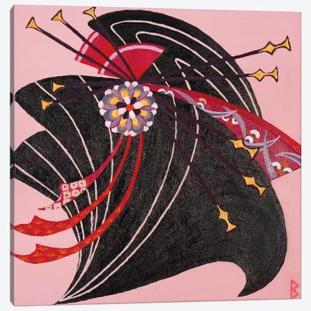 Geisha 3-Piece Canvas #BNI4} by Berit Bredahl Nielsen Canvas Artwork