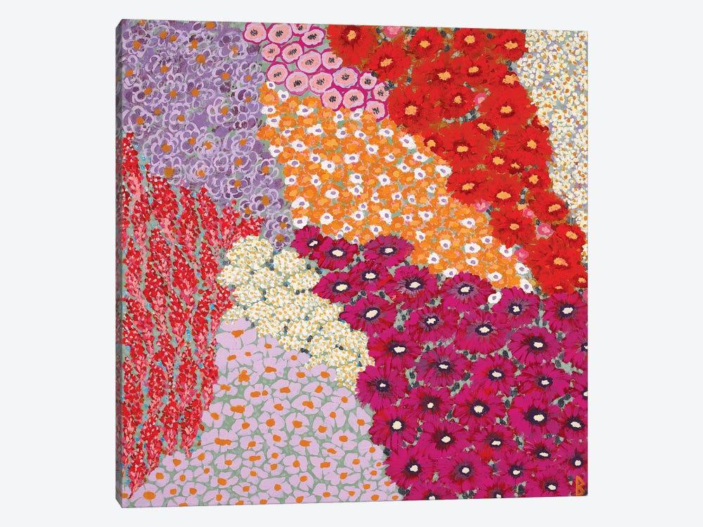 Garden In The Sun by Berit Bredahl Nielsen 1-piece Canvas Print