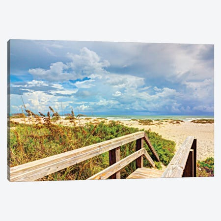 Beach Island I Canvas Print #BNN1} by Stede Bonnett Canvas Artwork