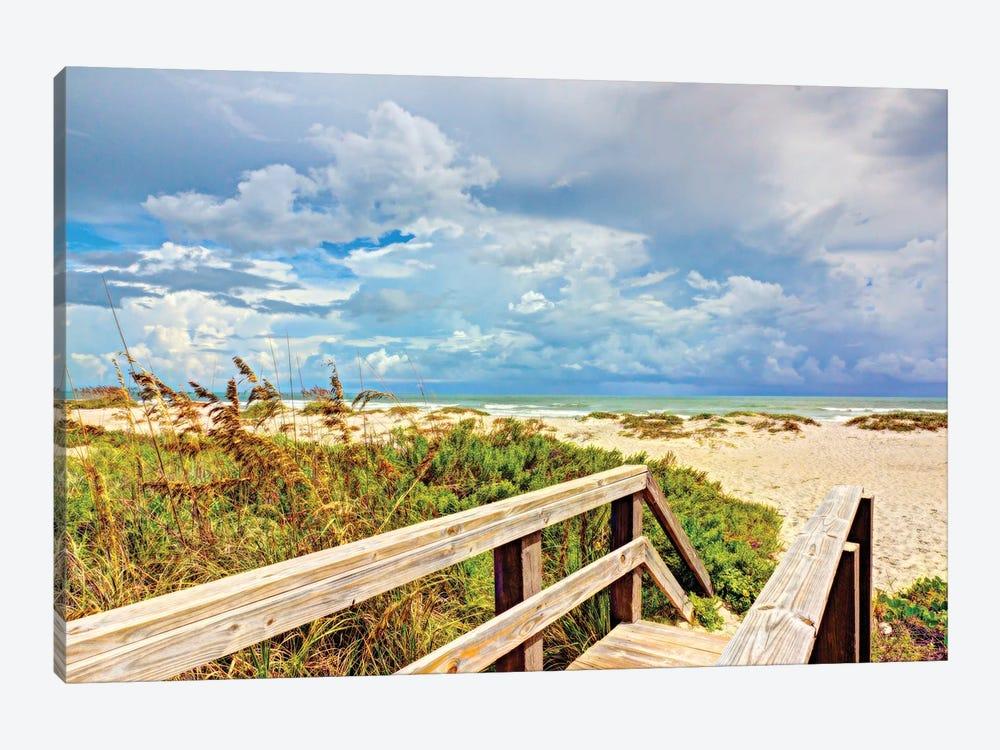Beach Island I by Stede Bonnett 1-piece Canvas Art Print