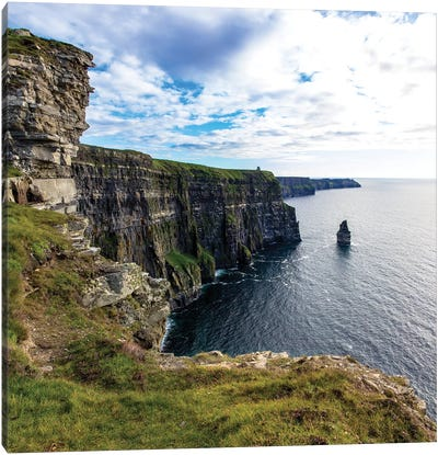 Cliffs Of Moher Square Canvas Art Print